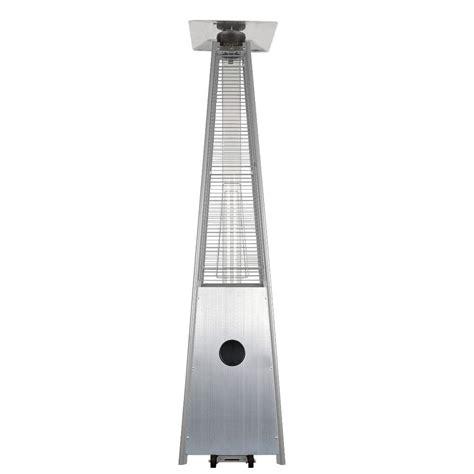 garden radiance 34 000 btu stainless steel pyramid propane