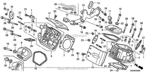 Honda Engines Gxr Qaf Engine Jpn Vin Gcark