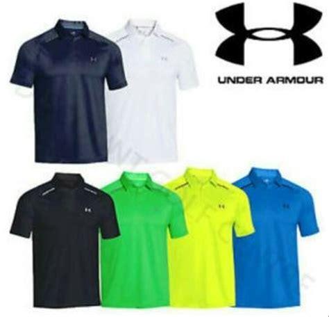 Underarmour Kaos jual polo kaos kerah armour golf all color di lapak