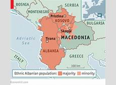 A Macedonian breakdown gets Europe's attention Scared in