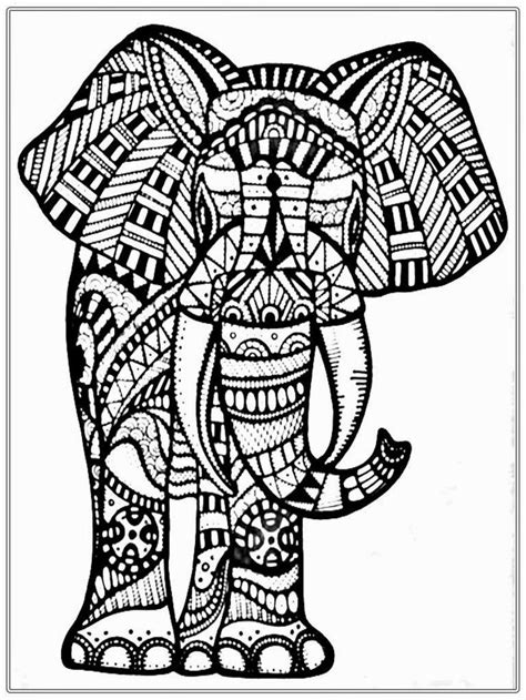 grown  coloring pages  google search elephant coloring page skull coloring pages