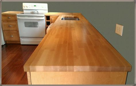 How To Refinish Butcher Block Countertops by Refinishing A Butcher Block Countertop Loccie Better