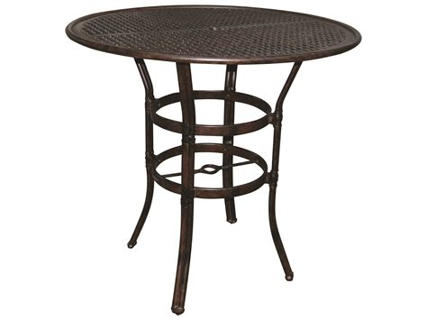 castelle resort cast aluminum 42 bar height table