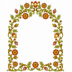 Flower Frame Clip Art - Cliparts.co