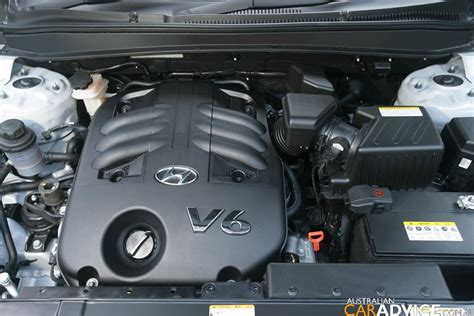 Hyundai Santa Fe Engine Size by 2007 Hyundai Santa Fe 3 3 V6 Review Photos Caradvice