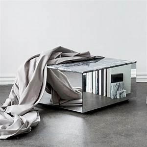 Table Basse Miroir : table basse miroir arne concept ~ Melissatoandfro.com Idées de Décoration