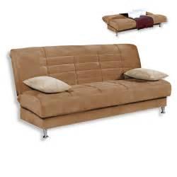 roller mã bel sofa schlafsofa braun beige inklusive 2 kissen schlafsofas sofas couches möbel