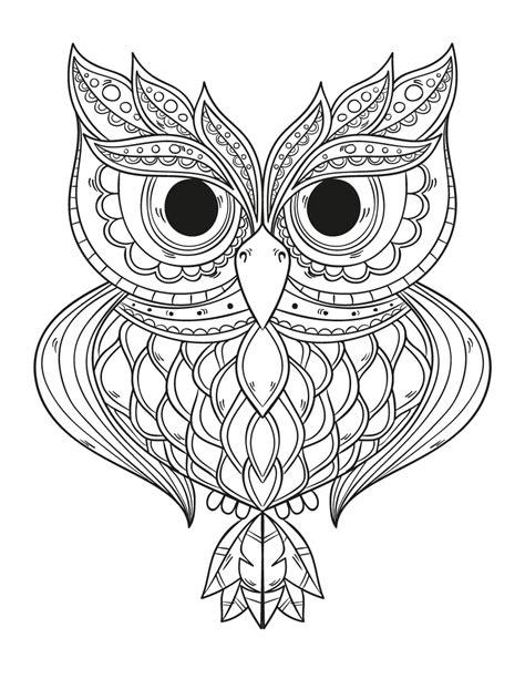 Imprimez les dessins romeo pyjamasques à colorier gratuitement. Dessin a imprimer gratuit hibou géométrie - Artherapie.ca