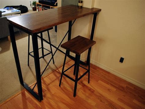 Handmade Industrial Bar Table by bolderELEMENTS