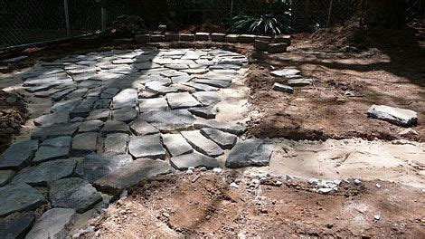 weekend project how to build a flagstone patio fast
