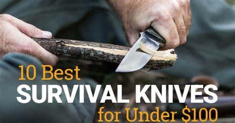 survival knives under knife cheap
