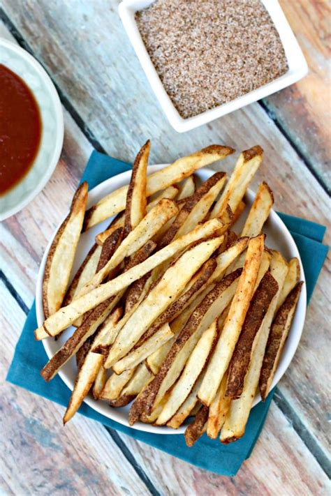 fries french air fryer salt seasoned save