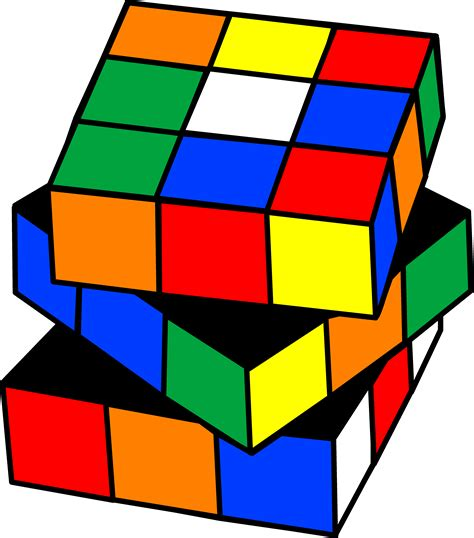 Rubix Cube Clip Art