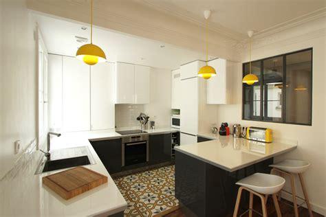 cuisine appartement parisien les 10 plus belles rénovations d 39 appartement de