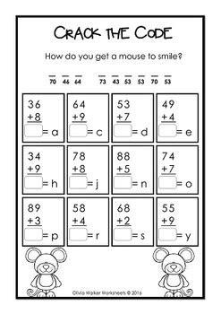 addition  regrouping adding    digit