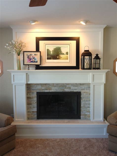 how to redo a fireplace 9 best step by step fireplace remodel images on