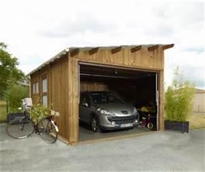 Garage Bois 20m2 : garages preaux abri garage en ~ Melissatoandfro.com Idées de Décoration