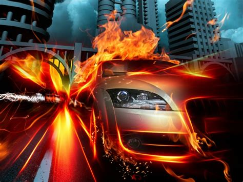 Cool Car Wallpapers For Desktop 3d Fall Wallpaper by 40 Total Verbl 252 Ffende Feuer Wallpaper Archzine Net