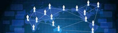 Social Network Business Marketing Grow Networking Expand