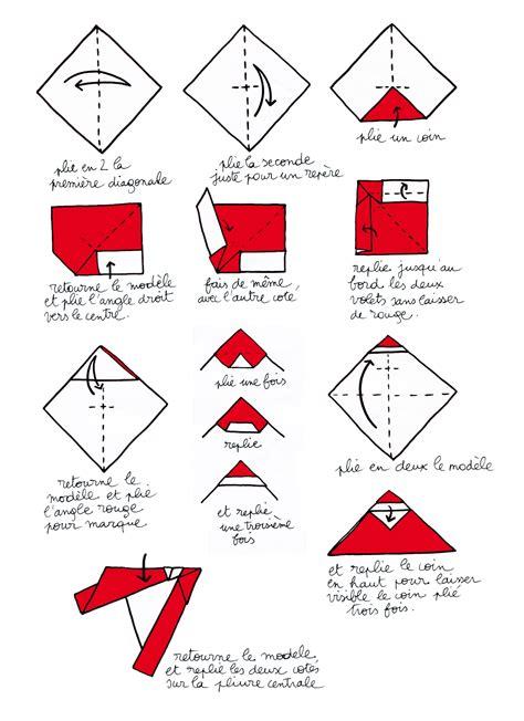 origami facile de noel origami noel facile