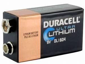 Duracell 9V Ultra Lithium Batteries - BatteryJunction.com