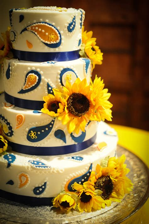 sunflower theme country wedding rustic wedding chic
