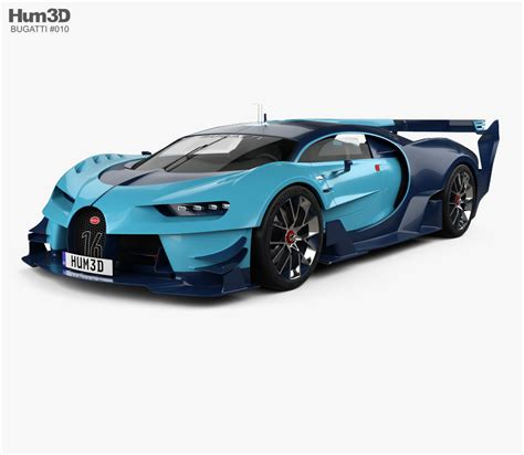 Bugatti Gran Turismo Price by Bugatti Vision Gran Turismo 2015 3d Model Humster3d