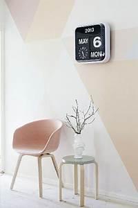 Deco Mural Salon : peinture une couleur pastel sur les murs c 39 est tendance ~ Teatrodelosmanantiales.com Idées de Décoration