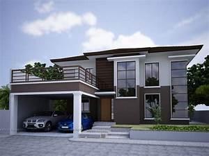 Modern zen house design cm builders for Zen house designs philippines