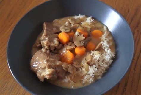 cuisiner une blanquette de veau blanquette de veau soniab recette cuisine companion
