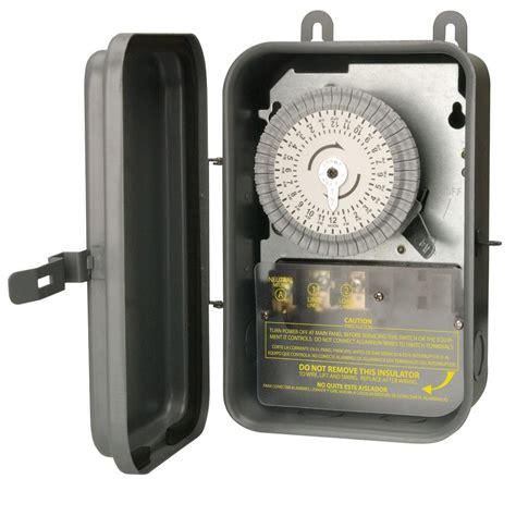 Woods Amp Volt Dpst Hour Dial Indoor