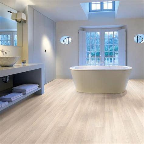 White Bathroom Flooring by Modern Flooring For Bathrooms