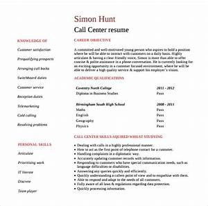 10 customer service representative resume templates to With call center customer service representative resume