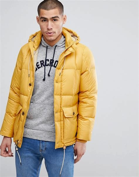 abercrombie fitch abercrombie fitch puffer jacket