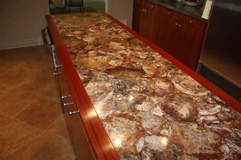 gemstone contemporary kitchen countertops dallas  presidio tile