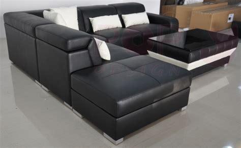 canapé jazz grand canapé d 39 angle en cuir jazz avec coffre de rangement