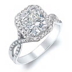 cushion halo engagement ring cushion cut engagement rings
