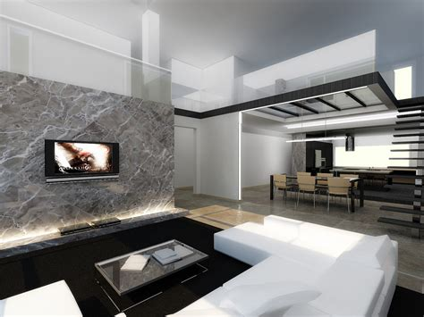 contemporary home interiors modern interior by longbow0508 on deviantart