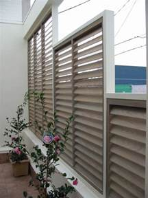 Patio Privacy Screens and Shades