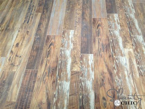 reclaimed wood laminate reclaimed looking laminate house update shanty 2 chic