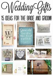 Wedding gift ideas the country chic cottage for Wedding shower gift ideas for bride and groom