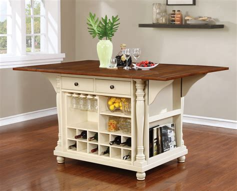 kitchen island cherry buttermilk and cherry kitchen island marjen of chicago chicago discount furniture
