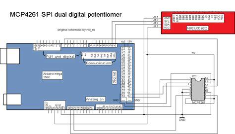 Arduino Tehniq Mcp Dual Digital Potentiometer