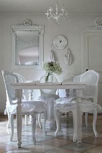 Salle A Manger Chic : inspiration shabby les tables ~ Nature-et-papiers.com Idées de Décoration