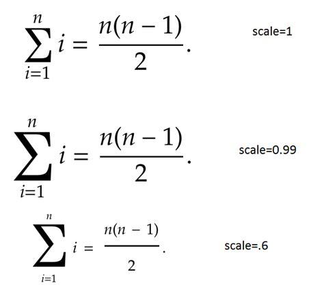 luatex font option scale displays weird behavior