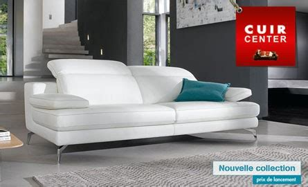 cuir center canape canapé convertible cuir center royal sofa idée de