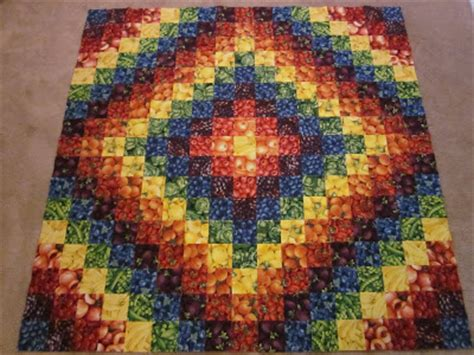 trip around the world quilt zany quilter rainbow trip around the world quilt
