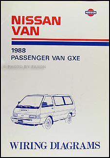 1987 1990 nissan repair shop manual original