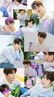 Jaehyun wallpaper purple   Arte