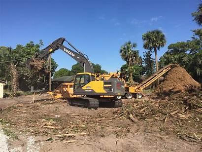 Debris Golf Vegetation Grinding Removal Service Course